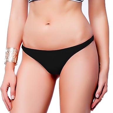 b2ca95bd5c95e CROSS1946 Sexy Swimwear Women's Brazilian Cheeky Bikini Itsy Bottom Thong  Swimsuit S