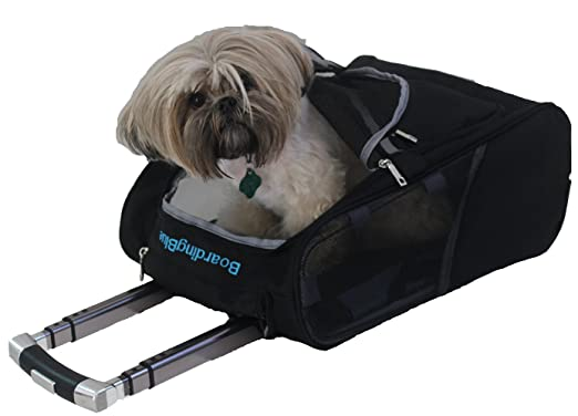 BoardingBlue Frontier Airlines Rolling Small Pet CarryOn Carrier 17quot