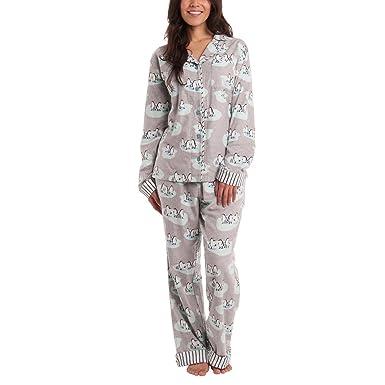 Munki Munki Ladies  Flannel PJ Set (XL 4f5030c06