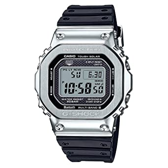 Amazon.com: CASIO G-Shock GMW-B5000-1CR - Banda de resina de ...