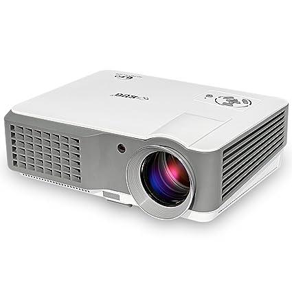 amazon com eug portable multimedia projector 2500 lumens lcd led