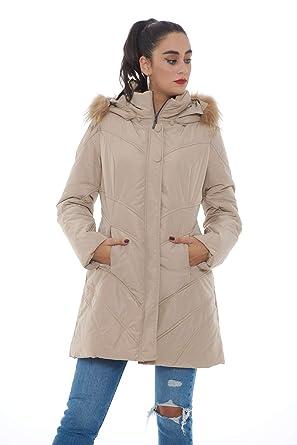 designer fashion 0df53 72be4 Corte dei Gonzaga Piumino Donna Lungo Beige MOD: 2013/02 ...