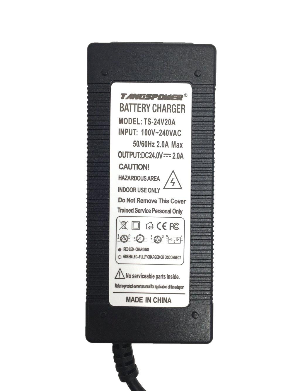 24V 2A batería de Plomo-ácido Cargador Scooter eléctrico ebike Cargador Cargador de Silla de Ruedas Cargador de Carrito de Golf