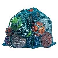 "Heavy-duty Mesh Equipment Bag (Turquoise, 24"" x 36"")"