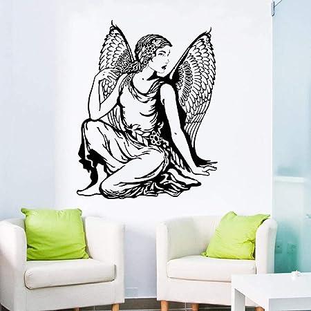 LovelyHomeWJ Tatuajes de Pared Hermoso ángel clásico Vinilo ...