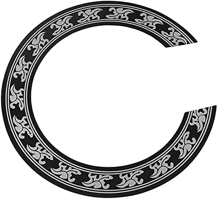 """Acoustic Guitar SoundHole ring Decal Sticker self-adhesive for 40/""""//41/"""" Guitar"""