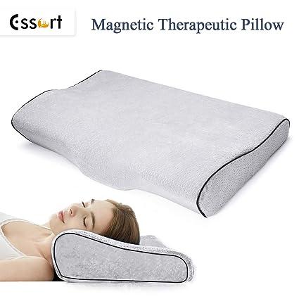 ESSORT Memory Foam Pillow Deep Sleeping Orthopedic Magnetic Pillow Ergonomic Cervical Pillow For Neck Pain Periarthritis Of The Shoulder