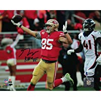 $79 » George Kittle Autographed/Signed San Francisco 49ers 8x10 Photo BAS PF