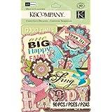 K&Company Die-Cut Cardstock, Kelly Panacci Blossom