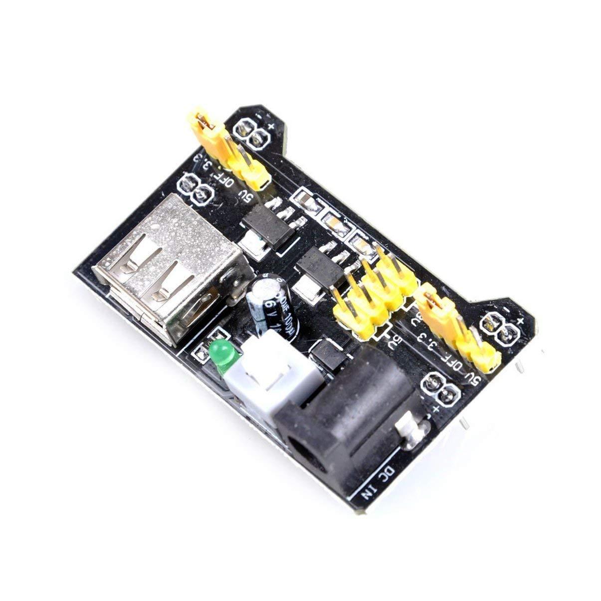 MB102 Breadboard Module Sin soldadura Prototype Bread Board Kit Prueba de PCB