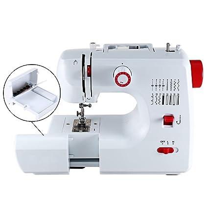 Amazon Fashine 40 Stitch Portable Sewing Machine Double Unique Lightweight Portable Sewing Machine