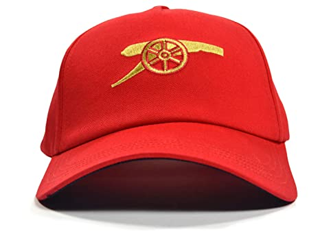 7a9354a8a04 Amazon.com   Arsenal Puma Leisure Baseball Cannon Logo Cap Red One ...