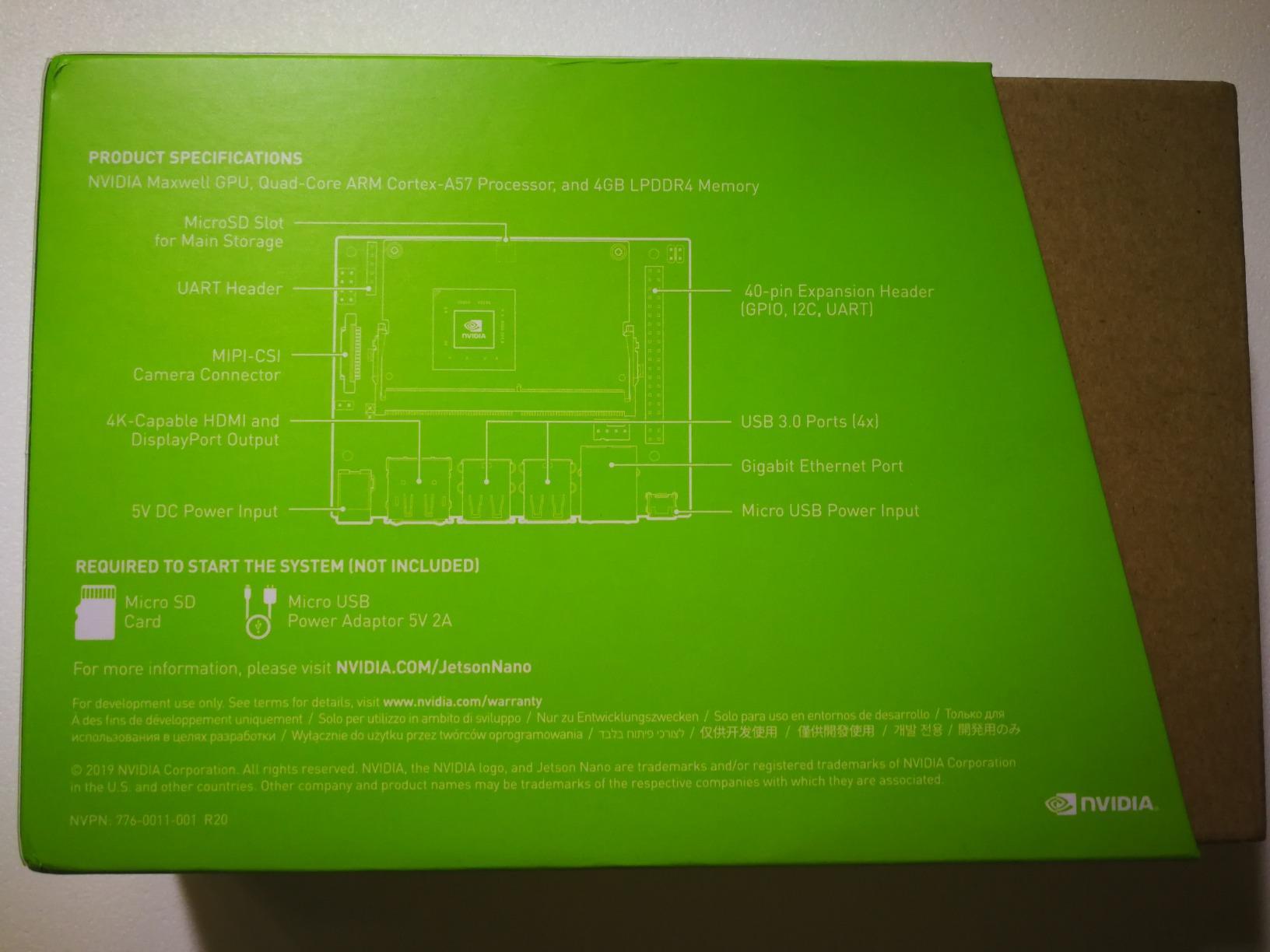 NVIDIA Jetson AGX Xavier Developer Kit - Amazon Mỹ | Fado vn