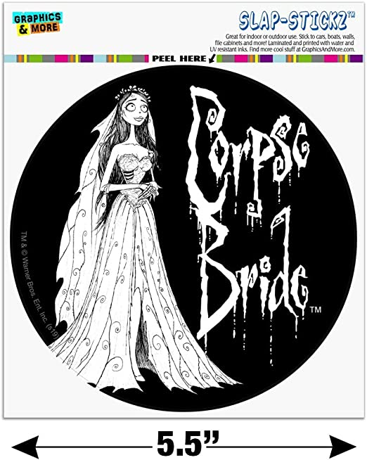 Tim Burton/'s Corpse Bride Movie Bride Art Image Refrigerator Magnet NEW UNUSED