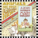 Mary Engelbreit 2020 Mini Wall Calendar: Animals Are Such Agreeable Friends
