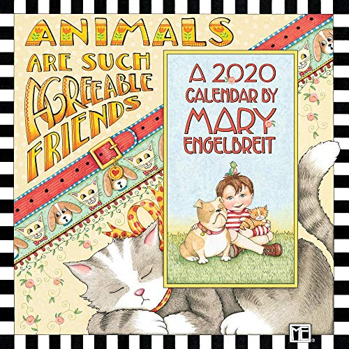Mary Engelbreit 2020 Mini Wall Calendar: Animals Are Such Agreeable Friends (Calendar Mary Engelbreit)