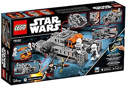BRAND NEW FACTORY SEALED LEGO 2016 STAR WARS 75152 IMPERIAL ASSAULT HOVERTANK