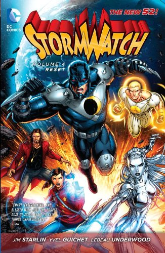 Download Stormwatch Vol  4: Reset (The New 52) book pdf