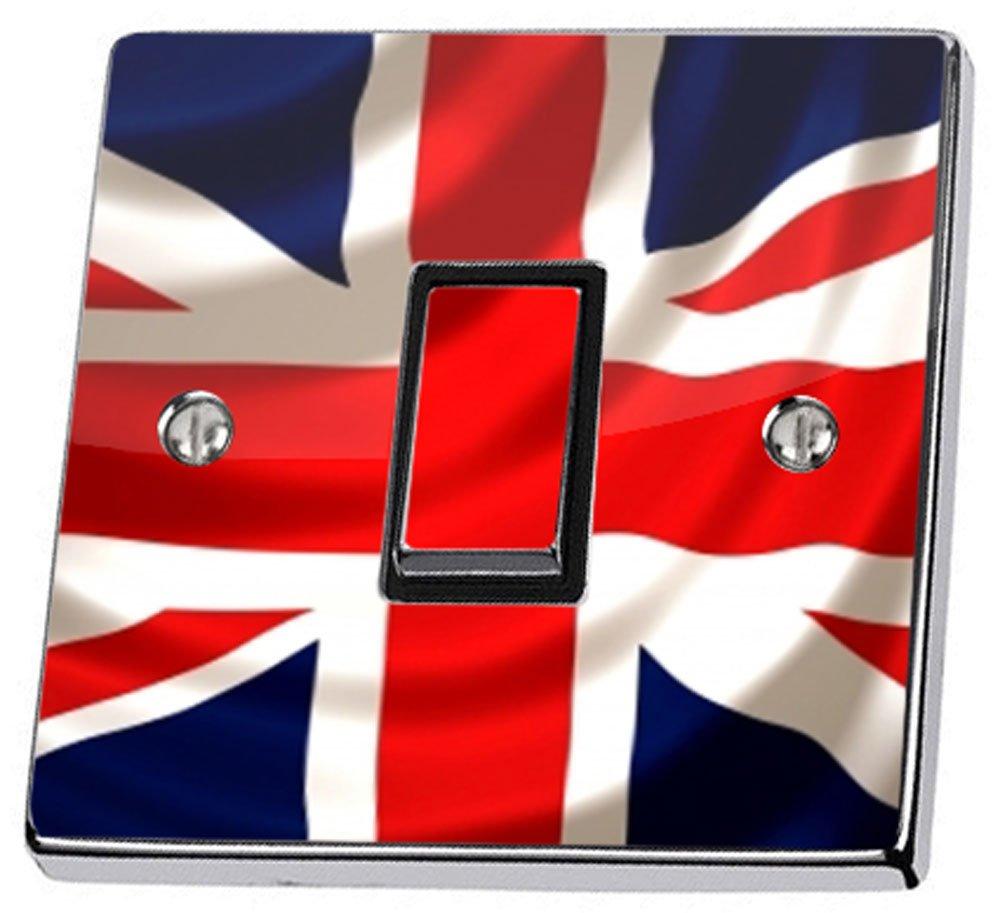 Royaume-Uni Drapeau britannique Union Jack Motif Peau Par Interrupteur Stika. co stika.co EXPSFD015221