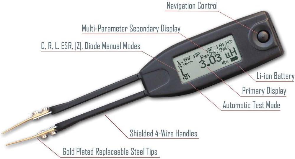 Smarttweezers St5 Smd Messpinzette Für Widerstände Elektronik