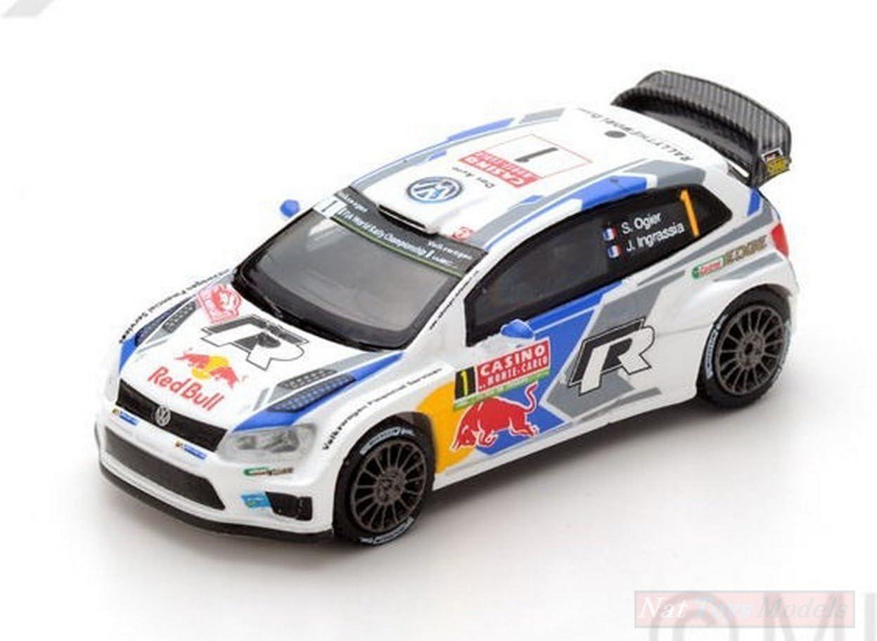 Spark Model S87138 VW Polo R WRC N.1 Monte Carlo 2014 S.OGIER-J ...