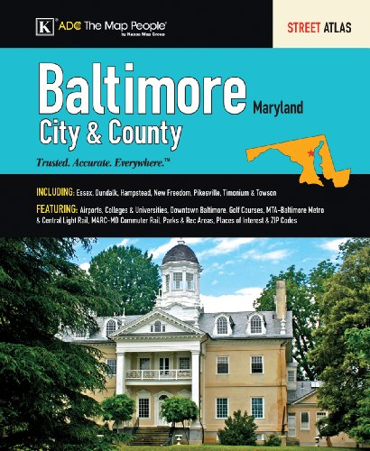 ADC Baltimore City & County, MD: Street Atlas