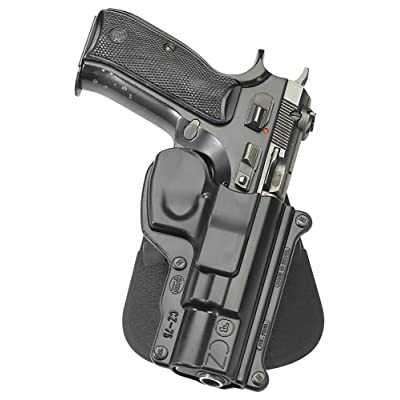 Fobus CZ75 RH Paddle Holster for CZ 75 75BD 85 75D Compact 9mm Cadet .22 for sale online