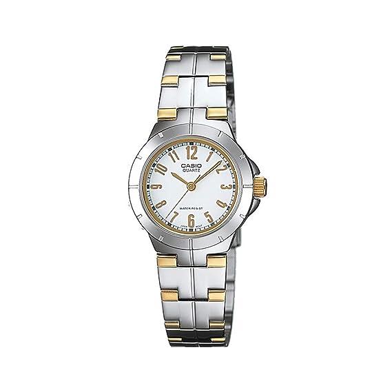 7153cfdfeb00 Casio General LTP-1242SG-7ADF - WW Reloj de metal a la moda para ...