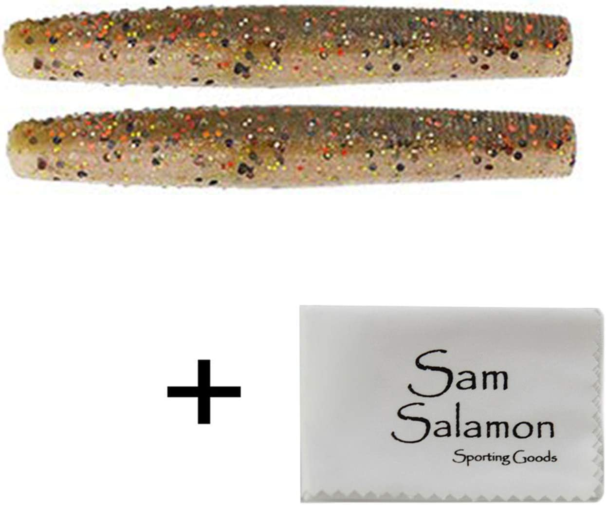 Z-MAN Finesse TRD Tackle w//Micro Sam Salamon Cloth 2 Pack of 8 pcs