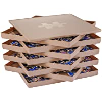 Puzzle Sorting Trays with Lid, 8 Trays Jigsaw Puzzle Sorters 10 x 10 inch, Fit 1500/2000 Pieces Puzzle Gift for Puzzlers…