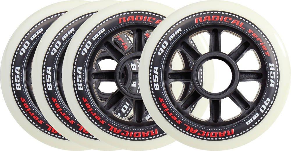 TEMPISH 10100004131, Ruote di Scorta Unisex – Adulto, Black, 90 mm