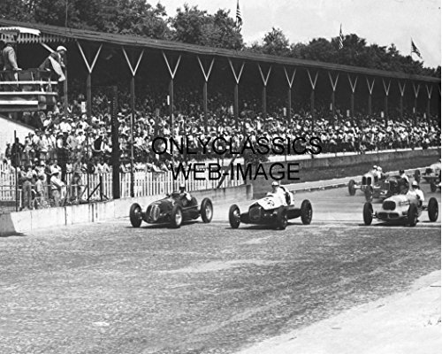 Indy Racing Flags - OnlyClassics 1939 WILBUR SHAW JIMMY SNYDER LOUIS MEYER INDY 500 START FLAG PHOTO AUTO RACING