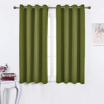 NICETOWN 45u0026quot; Bedroom Curtains Panels   Functional Blackout Curtains /  Panels For Bedroom, Thermal