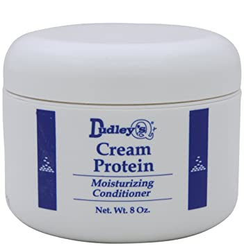 Amazon Com Dudley S Cream Protein Moisturizing Conditioner 8 Oz Standard Hair Conditioners Beauty