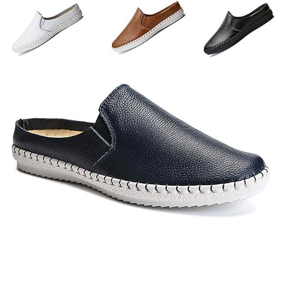 Sisttke Lederschuhe Herren,Casual Mokassins Loafers