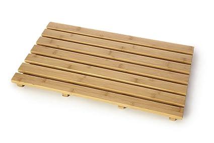 Vendita Pedana Doccia Legno.Home Range Pedana Doccia In Bambu Rettangolare A Doghe