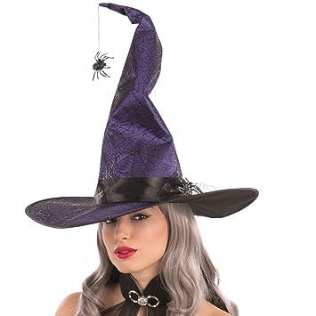 Carnival Toys 6083 Sombrero de Bruja con arañas 6c451e1cdc3