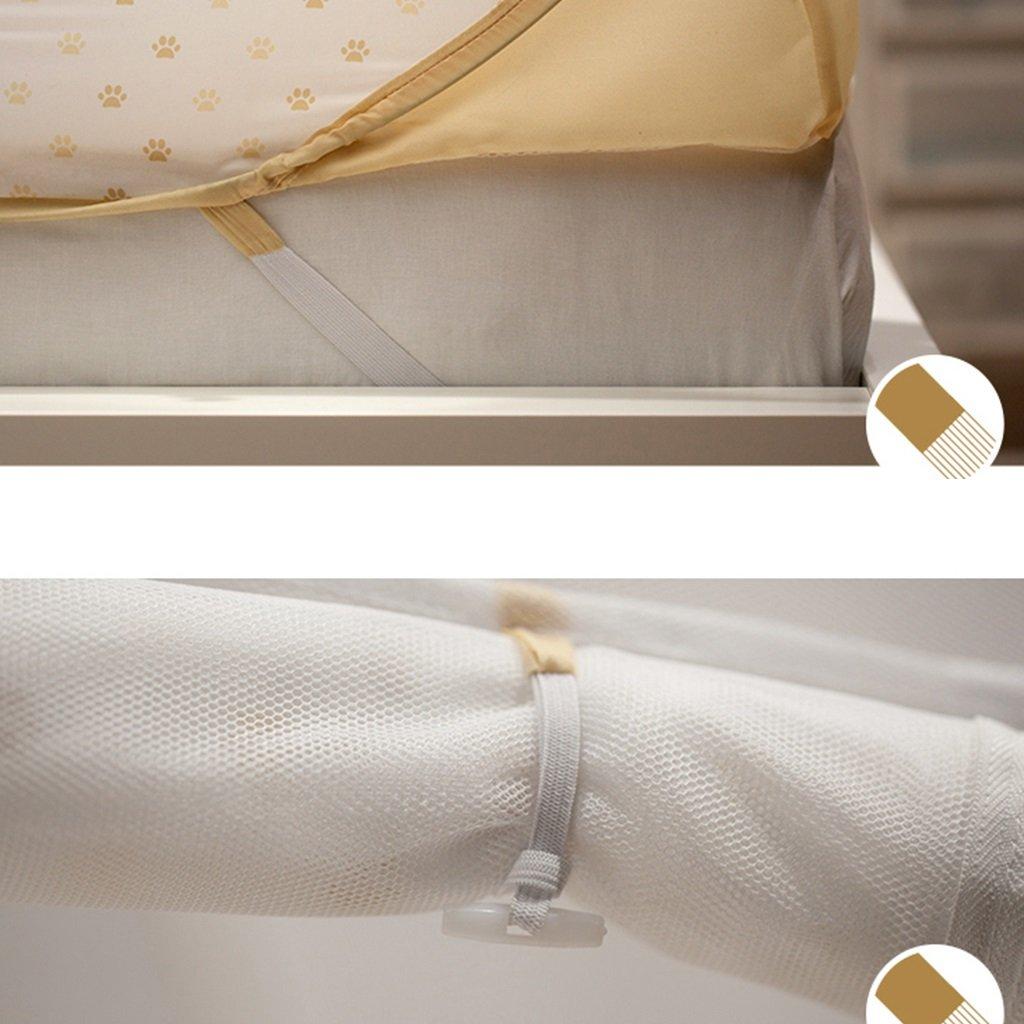 Bai lei jia ju shop kostenlose Pop-up-Zelt kostenlose shop Installation Moskitonetz mit drei Öffnungen für Jungen und Mädchen Schlafzimmer oder Camping Bettwäsche Ultra feine Mesh-Schutz keine Chemikalien 577493