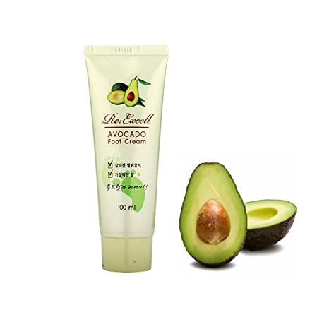 avocado foot cream