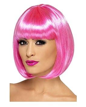 Partyrama Bob peluca rosa