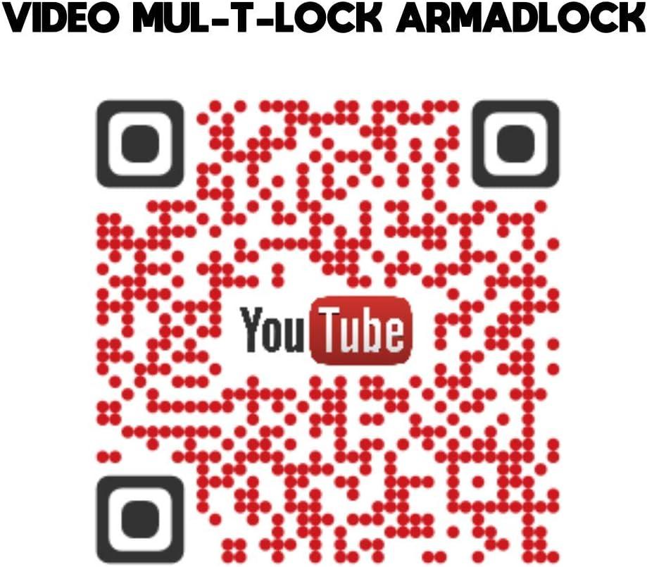 Mul-T-Lock Serrure ARMADLOCK mod/èle Simple pour Portes arri/ères des v/éhicules Utilitaires