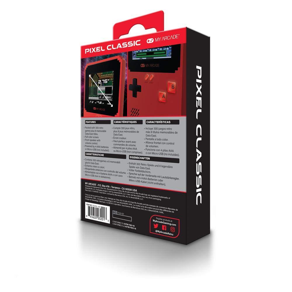 My Arcade Pixel Classic Data East Hits (Incluye 300 Juegos): Amazon.es: Videojuegos