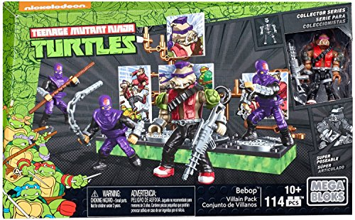 Mega Construx Teenage Mutant Ninja Turtles Collectors Bebop Villain Pack]()