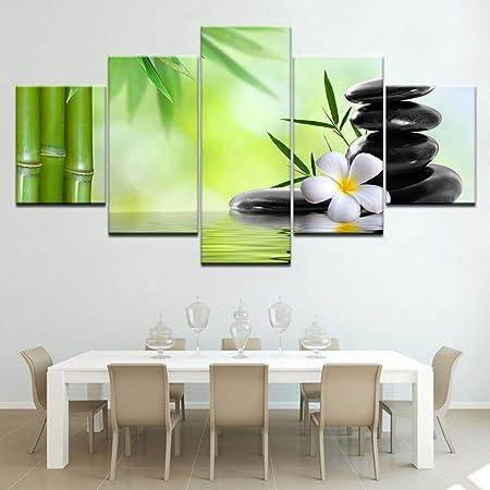 Qwergll 5 Dessin Cobblestone Peinture Sur Toile Le Mur Art