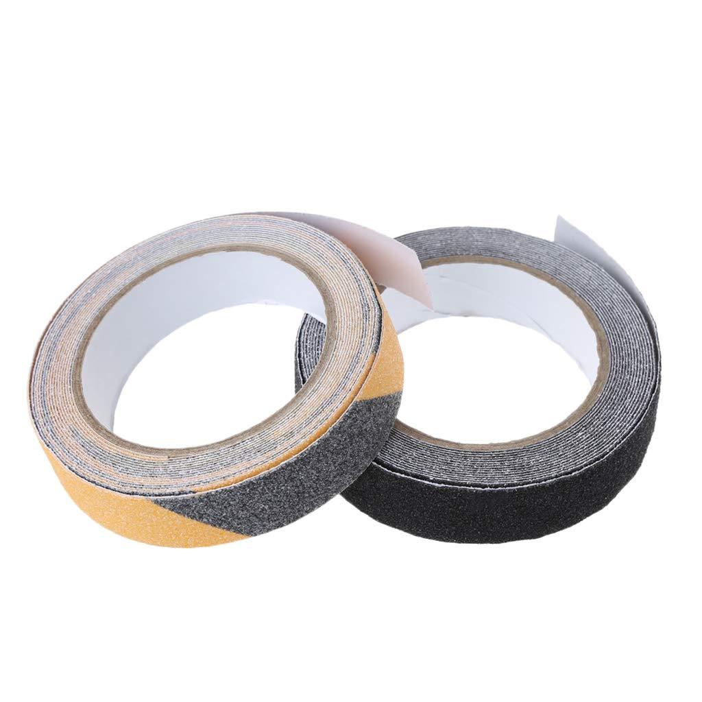 Nastro adesivo antiscivolo 2,5 cm x 5 m per la sicurezza del pavimento rotolo adesivo antiscivolo ad alta aderenza Bky