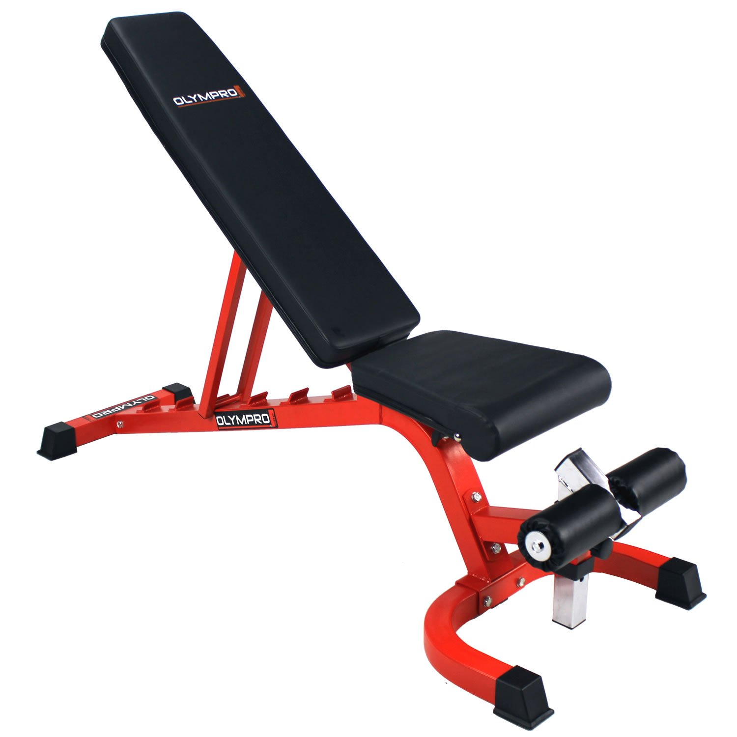 FLAT, INCLINE /& DECLINE GYMANO SUPER 7 FID BENCH //ADJUSTABLE DUMBBELL WEIGHT