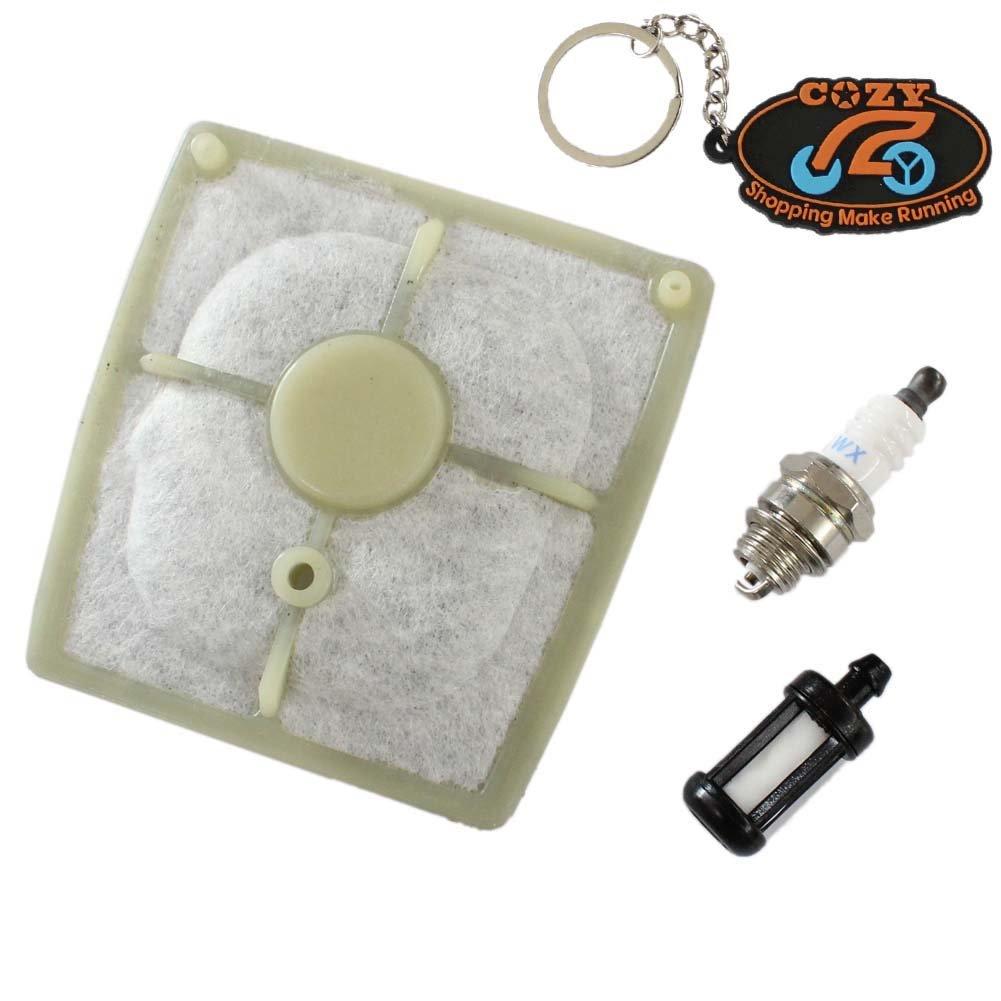 Cozy filtro de aire con Bujía Gasolina Filtro para Stihl 040 ...
