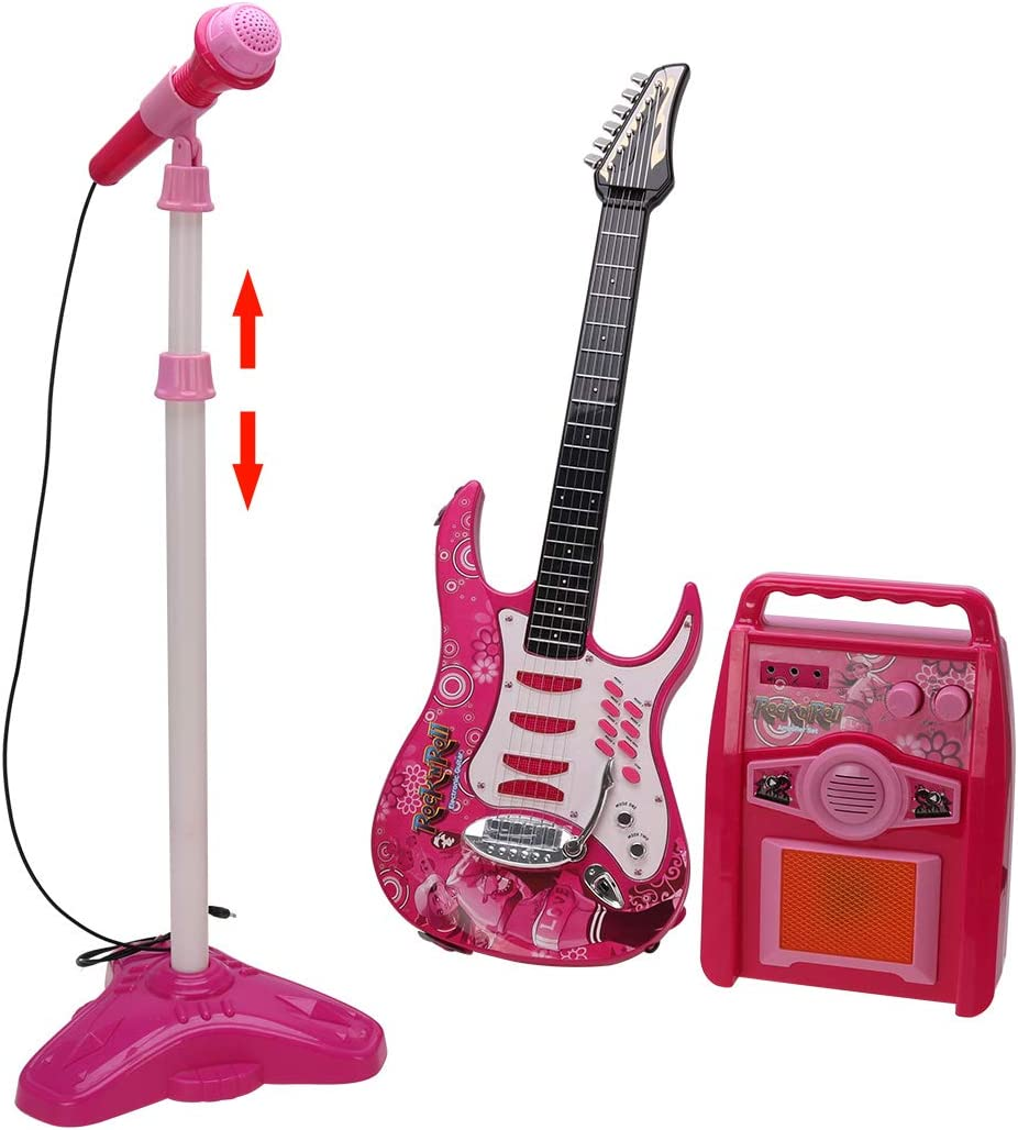 Kids Song Microphone Toddler First Electric Children Musical Toy Karaoke Machine