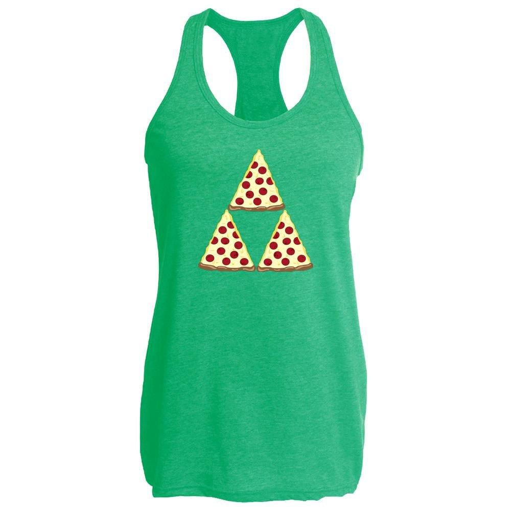 Pizza Triforce Womens Tank Top