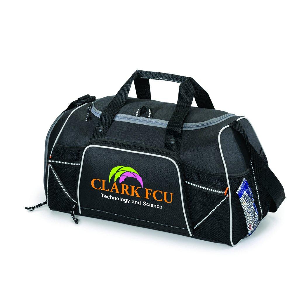Verveスポーツバッグ – 13数量 – $ 18.50各 – ブランド/スクリーン印刷のYourロゴ/カスタマイズ B01F6QFDYA  ブラック